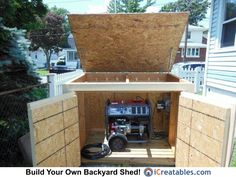 Pictures of Generator Sheds | Photos of Generator Sheds
