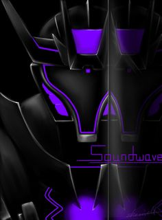 Soundwave reflected. I will say it again. They almost always seem to make Soundwave look awesome. love this. :)