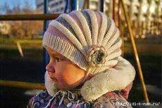 Crochet y Dos agujas: Un gorro genial! tejido con dos agujas (palillos)