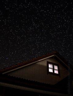 Céu de Lages noturno, Vila Cadeado! 2010