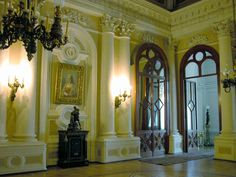 Hall: Antonio Vighi Hall at the Yusupov Palace