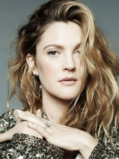 Drew Barrymore for Marie Claire US, February 2014