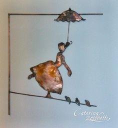 L 'arte di Caterina Zacchetti non è solo ceramica....