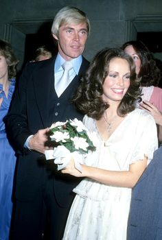 Jaclyn Smith & Dennis Cole - Wedding Day