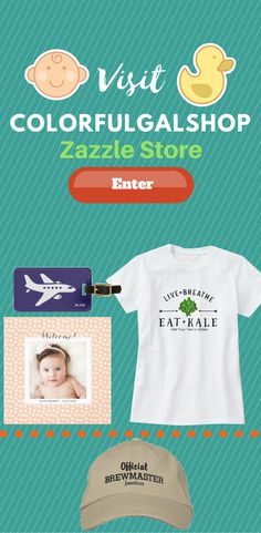 Take a look at ColorfulgalShop Zazzle Store for some cool and unique design on many different Product.