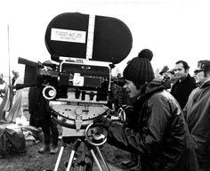 Roman Polanski on the set of Macbeth