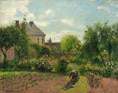 Le jardin de l'artiste à Eragny, Camille Pissarro http://www.ohmyprints.fr/index/86/fr/Le-jardin-de-l-artiste-a-Eragny-Camille-Pissarro/view/111497