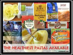 What Are The Healthiest Pastas Available?
