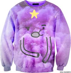Adventure Time LSP Sweater  (Lumpy Space Princess)