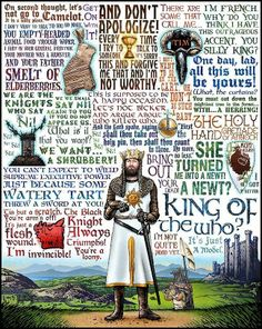Quotes from Monty Python and the Holy Grail