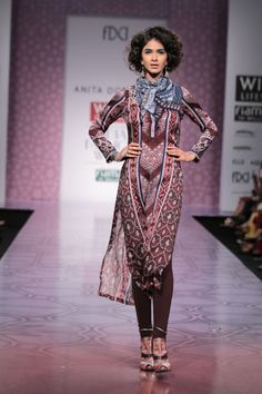 Anita Dongre @ Wills Lifestyle India Fashion Week Mar 2014