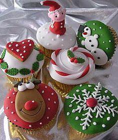 Cupcakes di Natale | Idee per decorare | FOTO