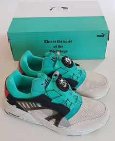 Details about PUMA x OVERKILL DISC BLAZE  Pfeffiboys  Sneakers Trainers  Cage NEW UK 8 07648435d