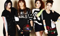 2NE1 models ADIDAS ORIGINAL's new summer line of clothing #allkpop #kpop #2NE1