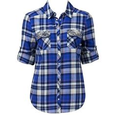 Forever New Selina check shirt ($62) ❤ liked on Polyvore