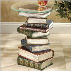 The book-smart table.
