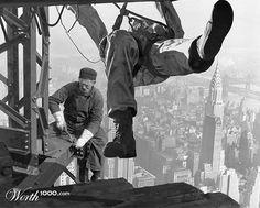 empire state bldg construction photos - Google Search