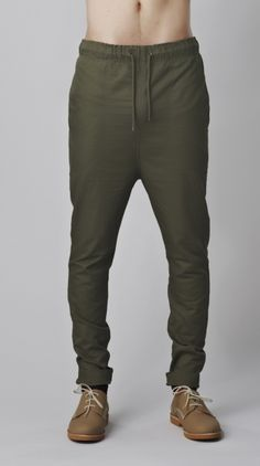 Zespy Pant Army Green | I Love Ugly