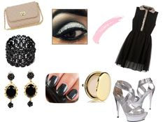 """""""Mostly Black"""" by princess-anneliese-geronimo ❤ liked on Polyvore"""