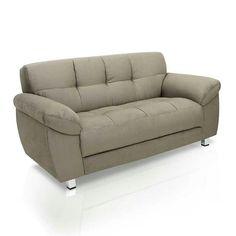 Sofa 2 lugares bege ( Marabras)