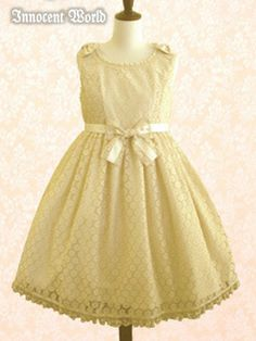 Florence Lace JSK in ivory, size L, by Innocent World 2012