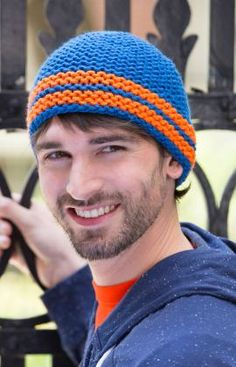 All About the Hat Free Knitting Pattern from Red Heart Yarns