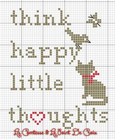 The Comtesse & Le Point De Croix: The jar of happiness . and free patterns. Free Cross Stitch Charts, Filet Crochet Charts, Cross Stitch Freebies, Cross Stitch Patterns, Free Charts, Cat Cross Stitches, Cross Stitching, Cross Stitch Embroidery, Hexagon Quilt Pattern