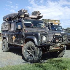 Land Rover Defender 110 Td5 SW County adventure explorer prepared.