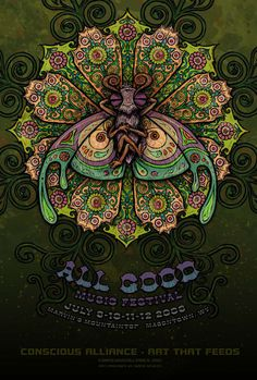 Marq Spusta » All Good Music Festival – Conscious Alliance Poster