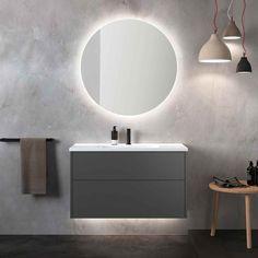 INR AIR baderomsinnredning i naturlig harmoni Bathroom Shelf Decor, Rustic Bathroom Shelves, Bathroom Vanity Cabinets, Bathroom Furniture, Guest Bathroom Remodel, Guest Bathrooms, Rustic Bathrooms, Modern Bathroom, Bathroom Cleaning Hacks
