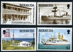 Bermuda Cable Stamps Postage Stamps, All Over The World, Cable, United Kingdom, Stamps, Cabo, Electrical Cable