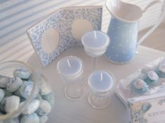 DOLLHOUSE CANDLES Miniatures Scented by SyreetasMiniatures