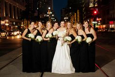 classic formal bridesmaid gowns | Collin Ritchie #wedding