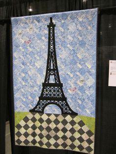 Eiffel Tower Quilt Portland Expo