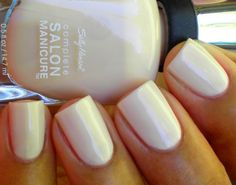 Sally Hansen Complete Salon Manicure Nail Polish Mousseline