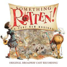Something Rotten! Original Broadway Cast Recording CD Recording | Ghostlight Records | Sh-K-Boom.com
