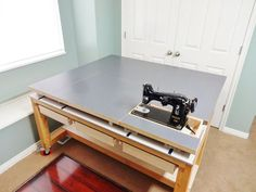 Picture of Build a Versatile Sewing and Craft Table