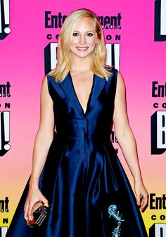 Candice Accola attends Entertainment Weekly's annual Comic-Con party