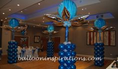mask dancefloor decor - Google Search Centerpiece Decorations, Balloon Decorations, Wedding Decorations, Masquerade Theme, Masquerade Ball, Balloon Columns, Canopy, Party Themes, Balloons