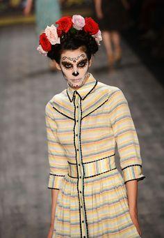 Lena Hoschek Spring/Summer 2013 Mexican Day of the Dead