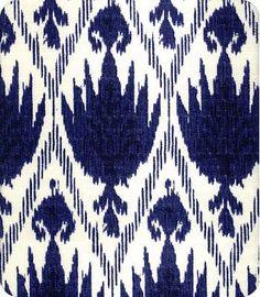 Blue and White Ikat Curtain Panel / Custom drapery in designer fabric Guest bedroom curtain idea Ikat Curtains, Ikat Pillows, Ikat Fabric, Blue Fabric, Cotton Fabric, Motif Ikat, Ikat Pattern, Pattern Design, Pattern Art