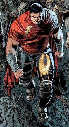 Hunter Prince son of Superman and Wonder Woman