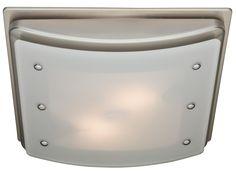 100 CFM Ellipse Bathroom Exhaust Fan with Light