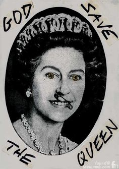 Sex Pistols God Save The Queen Swastika Eyes Queen Elizabeth