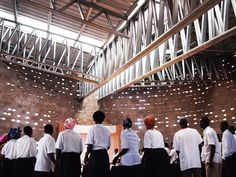 Gallery of Rural Church Community Hall Malawi / Architecture for a Change - 1