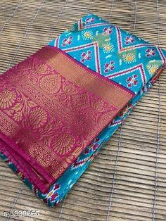 Designer Blouse Patterns, Blouse Designs, Saree Trends, Banarasi Sarees, Pure Silk Sarees, Cod, Coin Purse, Apple, Pure Products