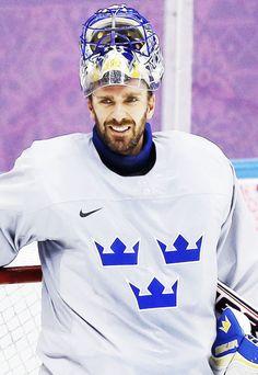 Henrik Lundqvist, Team Sweden, Sochi 2014 (martybiron.tumblr.com)