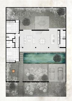 Studio House on Chapálico Sea,Ground Floor Plan