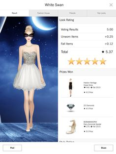 White Swan - Covet Fashion 4.50+ rating