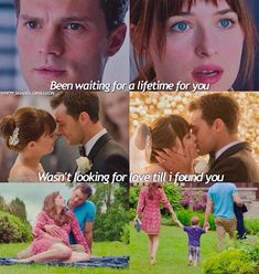 Christian et Ana 50 Shades Trilogy, Fifty Shades Series, Fifty Shades Movie, Fifty Shades Quotes, Shade Quotes, 50 Shades Freed, Fifty Shades Darker, Shades Of Grey Movie, Grey Quotes